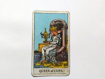 Tarot Cards Divination Occult Magic. Tarot Cards for divination purposes, magic and occult and soul guidance stock photos