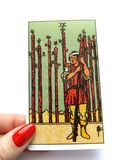 Tarot Cards Divination Occult Magic. Tarot Cards for divination purposes, magic and occult and soul guidance royalty free stock photos