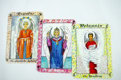 Tarot Cards Stock Photo