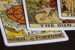 Tarot cards Royalty Free Stock Images