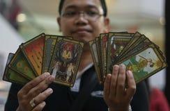 Tarot cards Royalty Free Stock Image