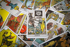 Tarot cards Tarot Royalty Free Stock Photography