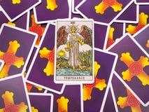 Tarot cards Tarot, the temperance card Royalty Free Stock Images