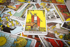 Tarot de cartes de tarot Images stock