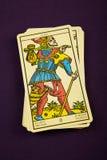 Tarot der Dummkopf Stockfotos