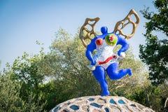 The Tarot Garden is a sculpture garden based on the esoteric tar Royalty Free Stock Photos