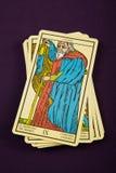 Tarot The Hermit royalty free stock photos
