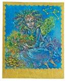 Tarot karta - obfitość fotografia royalty free