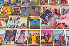 Tarot Karten Stockfoto