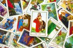 Tarot Karten Stockbilder