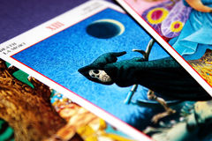 Tarot Karten - Tod Lizenzfreie Stockfotos