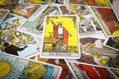 Tarot karty Tarot Obrazy Stock