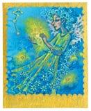 Tarot kort - mirakel stock illustrationer