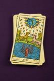 Tarot a lua Imagens de Stock