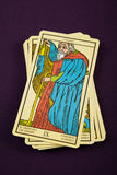 Tarot o eremita Fotos de Stock Royalty Free