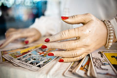 Tarot Reading Royalty Free Stock Images