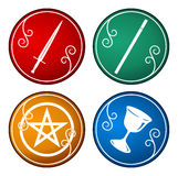 Tarot symbol Stock Photography