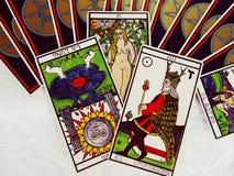 Tarotkaarten het Lezen Royalty-vrije Stock Foto's