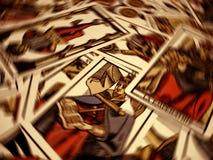 Tarotlot stock afbeeldingen