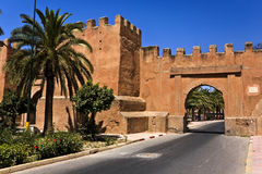 Taroudannt. Morocco. Taroudannt. Fragment of fortified walls surrounding the town Royalty Free Stock Photos