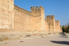 Taroudant's defensive wall Royalty Free Stock Photos