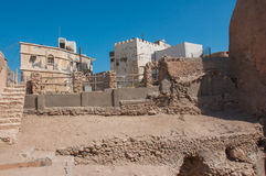 Tarout Castle's Fortifications, Tarout Island, Saudi Arabia Royalty Free Stock Photos