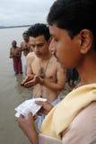 tarpan hinduiska ritualer Royaltyfri Bild