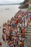 tarpan hinduiska ritualer Royaltyfri Fotografi