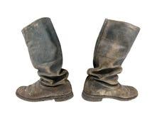 Tarpaulin boots Royalty Free Stock Photography