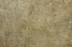 Tarpaulin canvas or sackcloth Royalty Free Stock Images