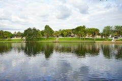 Tarpon Spring lake Stock Photo