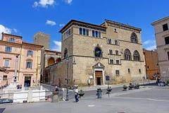 Tarquinia, museum Etruscan stock fotografie