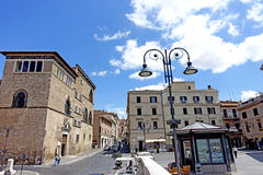 Tarquinia,museum Etruscan. Tarquinia viterbo italy Tarquinia,museum Etruscan The town of Tarquinia, the center of Southern Etruria, an Etruscan capital, a royalty free stock photography