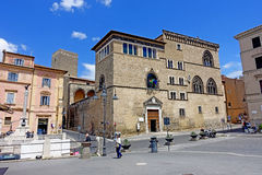Tarquinia,museum Etruscan. Tarquinia viterbo Italy Etruscan museum The town of Tarquinia UNESCO heritage, the center of Southern Etruria, an Etruscan capital, a stock photography