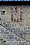 Tarquinia sundial zdjęcie stock