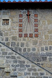 Tarquinia The sundial. Tarquinia viterbo italy Tarquinia The sundial The town of Tarquinia, the center of Southern Etruria, an Etruscan capital, a medieval town stock photo