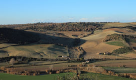 Tarquinia viewpoint on the country side Stock Image