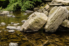 Tarr Steps Exmoor Royalty Free Stock Photography