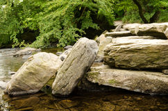 Tarr Steps Exmoor Royalty Free Stock Photos