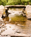 Tarr Steps Exmoor Stock Images