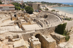 Tarraco amphitheater Stock Photo