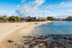 Tarrafal beach in Santiago island in Cape Verde - Cabo Verde Stock Photos
