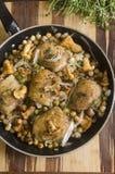 Tarragon chicken Stock Image