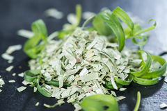 Tarragon (dried) royalty free stock photography