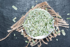 Tarragon (dried) royalty free stock photo