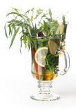 Tarragon hot drink tea Royalty Free Stock Photography