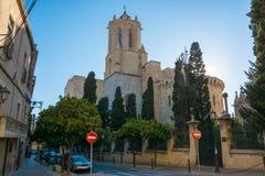 Tarragona καθεδρικός ναός (Ισπανία) Στοκ φωτογραφίες με δικαίωμα ελεύθερης χρήσης