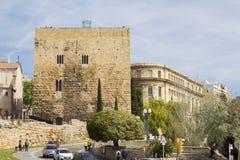 Tarragona, ρωμαϊκή αρχιτεκτονική Στοκ Εικόνες