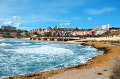 Tarragona. A panoramic view of Tarragona, in Spain royalty free stock image