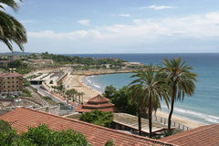 Tarragona. Sea Front Royalty Free Stock Photography